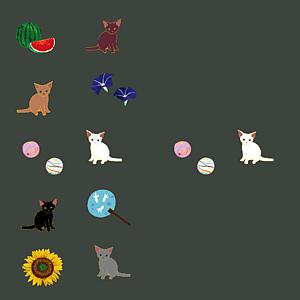 猫と日本の夏(仙斎茶/全12色)