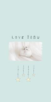 LOVE HAMUスター(ミントブルー)