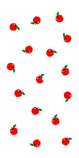 よ〜く見て!赤りんご