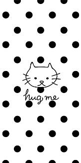 Hugmeねこ黒dot