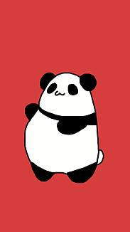 ぽよパンダ(赤)