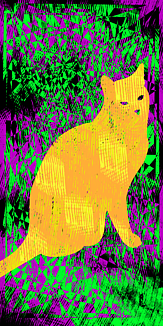 Cheese cat 黄色のねこ