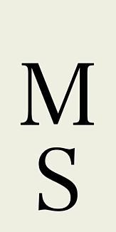 イニシャル M.S.