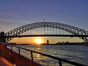 ハーバーブリッジin シドニー