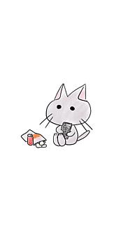 お気に召すまま猫(グレー)