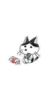 お気に召すまま猫(ハチワレ)
