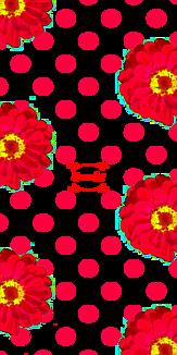 花 赤 ドット