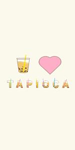 I♥TAPIOKA オフホワイト