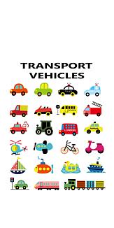 TRANSPORT VEHICLES☆乗り物いっぱい