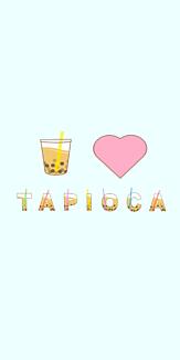 I♥TAPIOKA ブルー
