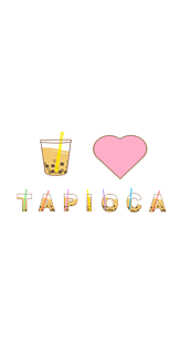 I♥TAPIOKA ホワイト