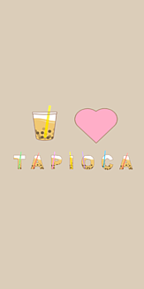 I♥TAPIOKA ミルクティ