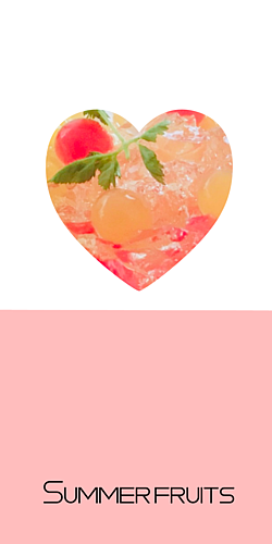 Summer Fruits ピンク♡ハート