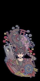 和風スチームパンク【悪魔】