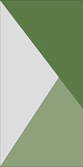 斜め配色デザイン(グリーン系×グレー)