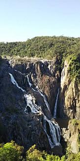 オーストラリアの滝