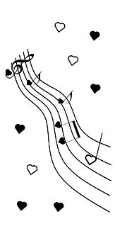 ハートの演奏