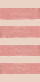 ボーダー(ピンクオレンジ×ピンクベージュ)