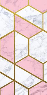 大理石風デザイン Pink
