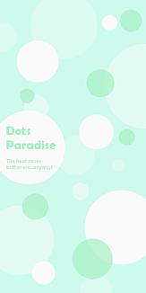 Dots Paradise ブルー