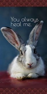 おしゃれなウサギさん