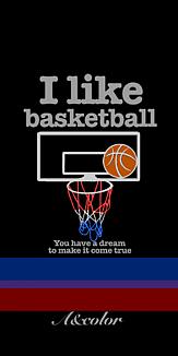 バスケットボール ブラック