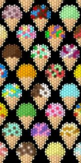 Geometric pattern Icecream4
