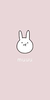 muuuなうさぎ(ピンク)