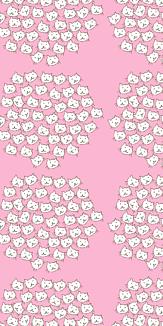 北欧柄ネコ(ピンク)