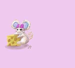 魔女のネズミ ロングショット♦︎Ver