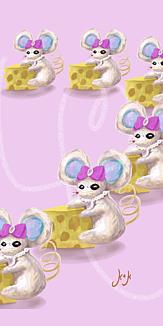 魔女のネズミ 分身魔法♢hearteffect,ver