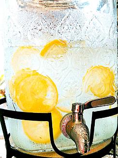 夏☆すっきり★レモン水