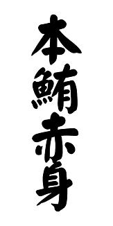 本鮪赤身 / 寿司ネタシリーズ