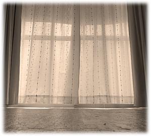 背景セピア-窓(手帳フレーム)