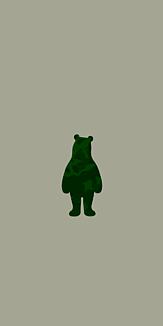 camouflage bear - simple - 1