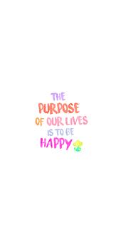 the purpose - 1