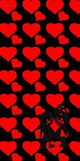 赤ハート♡