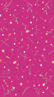 小花柄 ピンク