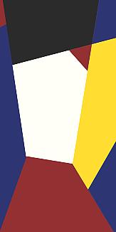 パッキリ斜め線(赤・黒・紺・黄色・白)