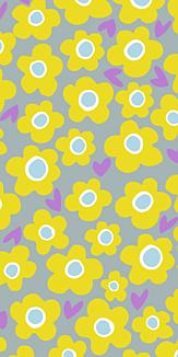 many many flower <gray>