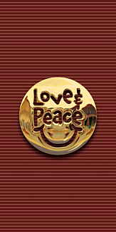 LOVE & PEACE -GOLD- 02