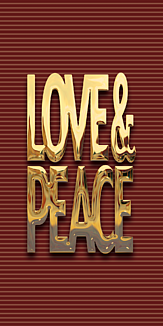 LOVE & PEACE -GOLD- 01