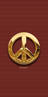 PEACE -GOLD-