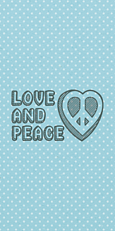 Love and Peace <blue>