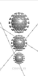 コロナウイルス(シルバー)