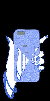 無限スマホ(Blue)