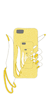 無限スマホ(Yellow)