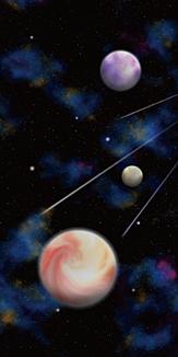 宇宙 惑星 流星