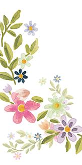 くすみカラーのお花
