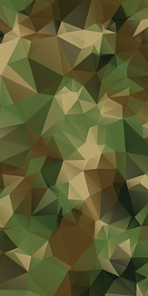 ポリゴン迷彩(緑)